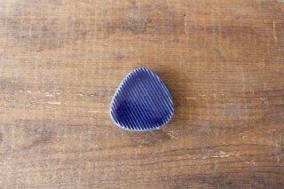 Niigataモチーフ箸置き おにぎり 灰るり 陶器 青人窯商品画像