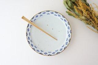 8寸リム皿 梅 磁器 皐月窯 砥部焼商品画像