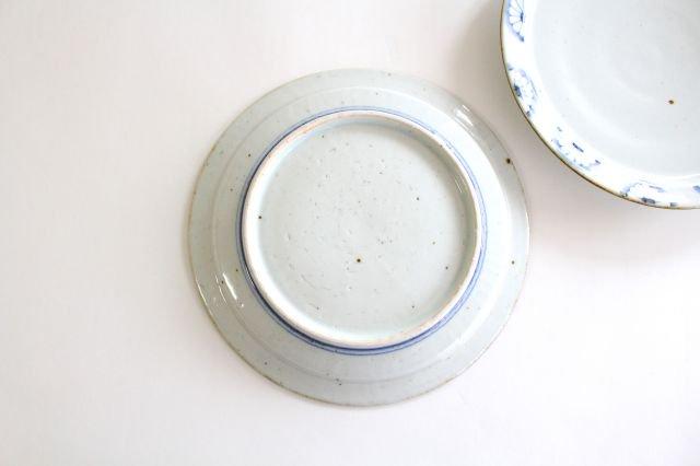 8寸リム皿 菊紋 磁器 皐月窯 砥部焼 画像6