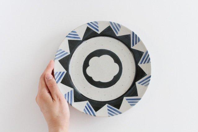 プレート アメヤマ 中 陶器 はるな陶芸工房 画像4