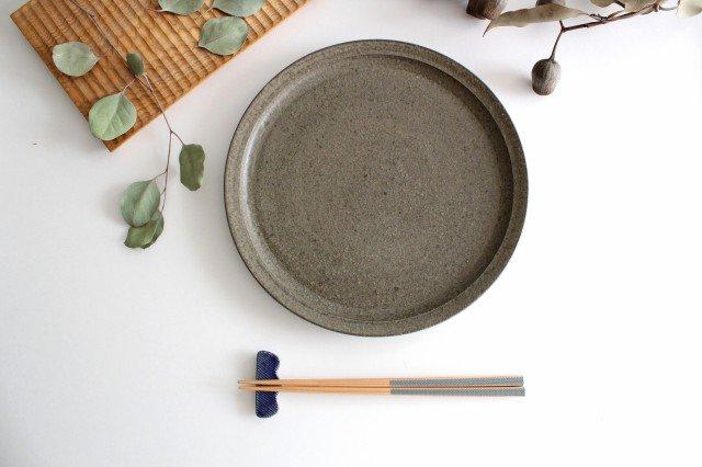 Niigataモチーフ箸置き 枝豆 灰るり 陶器 青人窯 大山 育男 画像5