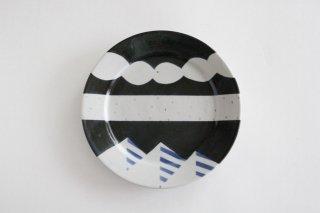 プレート アメヤマ 小 B 陶器 はるな陶芸工房商品画像