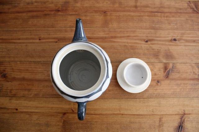 ティーポット アメヤマ 陶器 はるな陶芸工房 画像2
