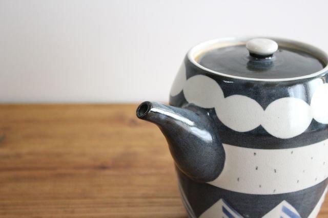 ティーポット アメヤマ 陶器 はるな陶芸工房 画像3