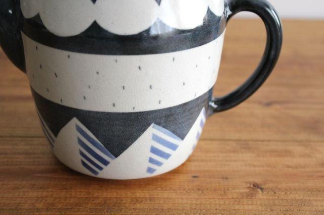 ティーポット アメヤマ 陶器 はるな陶芸工房 画像4