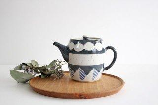 ティーポット アメヤマ 陶器 はるな陶芸工房商品画像
