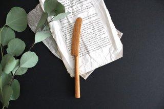 バターナイフ 小 チェリー 木工 石井宏治商品画像