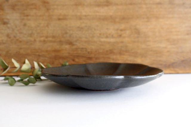 ブロンズ 輪花皿 陶器 レジーナ 画像3