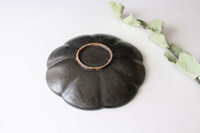 ブロンズ 輪花皿 陶器 レジーナ 画像4