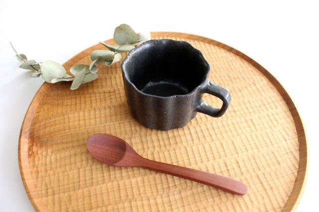 ブロンズ 輪花カップ 陶器 レジーナ