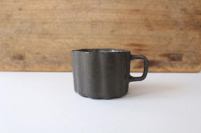 ブロンズ 輪花カップ 陶器 レジーナ 画像2