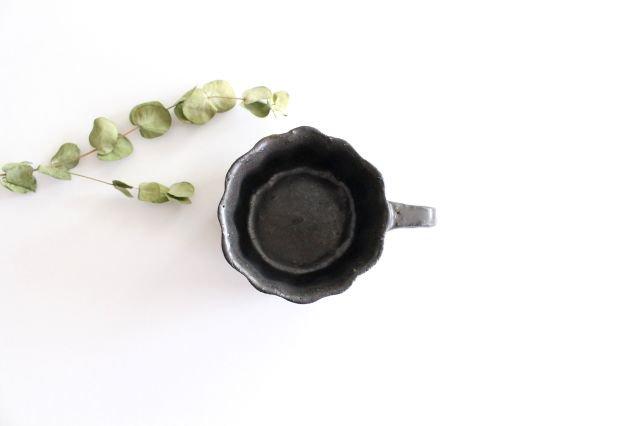 ブロンズ 輪花カップ 陶器 レジーナ 画像3