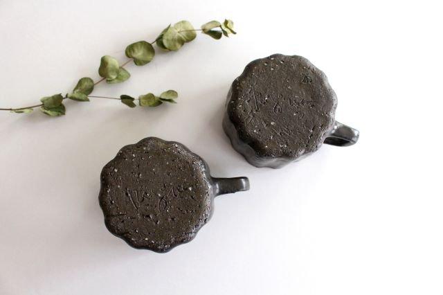 ブロンズ 輪花カップ 陶器 レジーナ 画像5