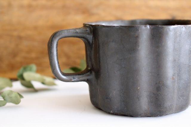 ブロンズ 輪花カップ 陶器 レジーナ 画像6
