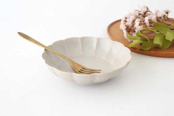 菊割平鉢 シャーベットグレー 磁器 皓洋窯 有田焼商品画像