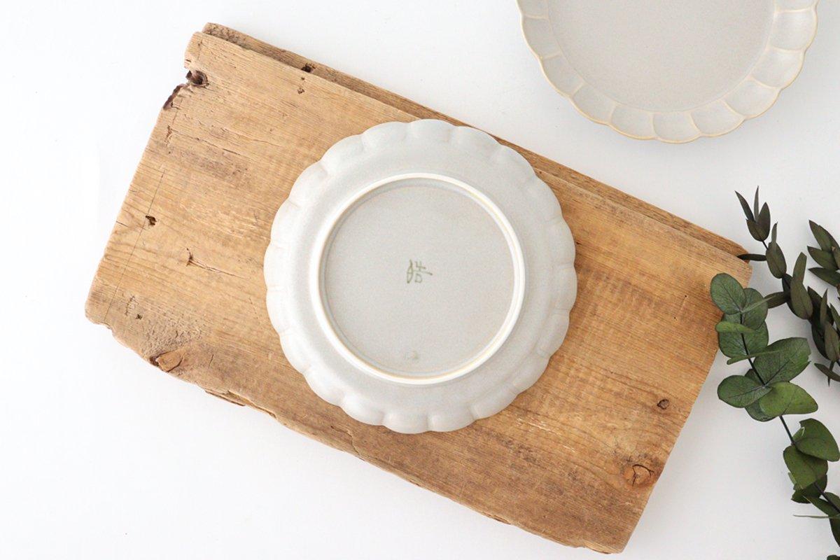 菊割5寸皿 シャーベットグレー 磁器 皓洋窯 有田焼 画像6