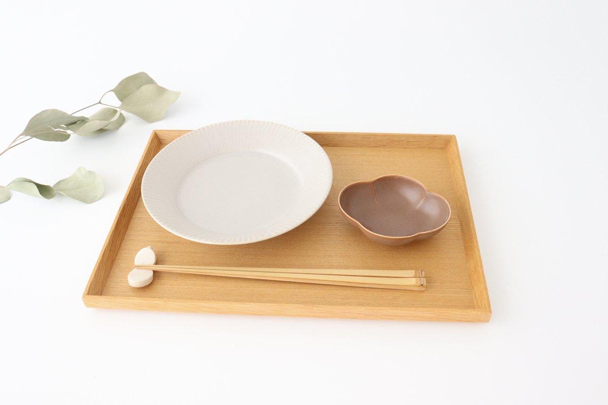 しのぎ5.5寸皿 シャーベットグレー 磁器 皓洋窯 有田焼 画像5