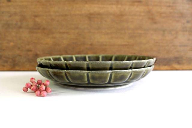 菊割5寸皿 オリーブ 磁器 皓洋窯 有田焼 画像5