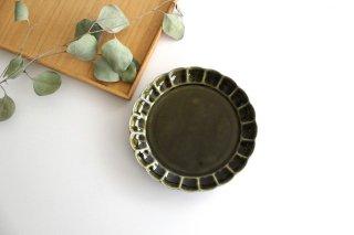 菊割5寸皿 オリーブ 磁器 皓洋窯 有田焼商品画像