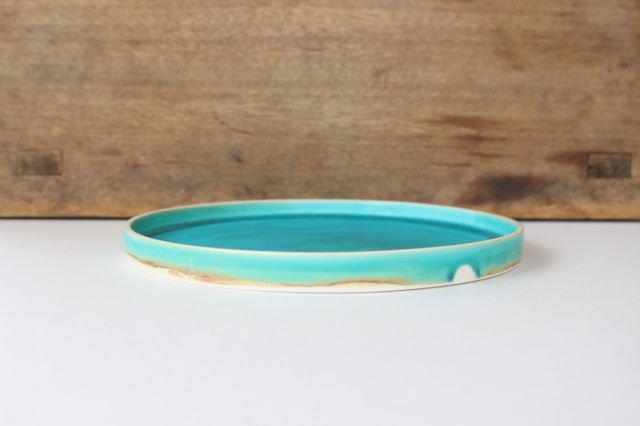銅鑼鉢 S    ナイルブルー    陶器 宮木英至 画像2