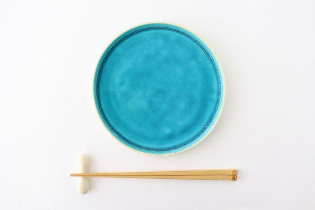 銅鑼鉢 S    ナイルブルー    陶器 宮木英至 画像5