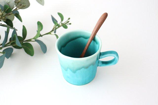マグカップ S    ナイルブルー    陶器 宮木英至 画像2