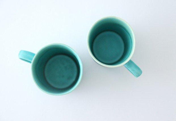 マグカップ S    ナイルブルー    陶器 宮木英至 画像3