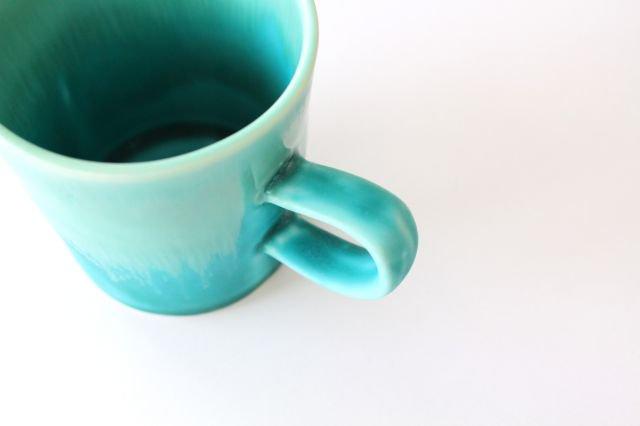 マグカップ S    ナイルブルー    陶器 宮木英至 画像6