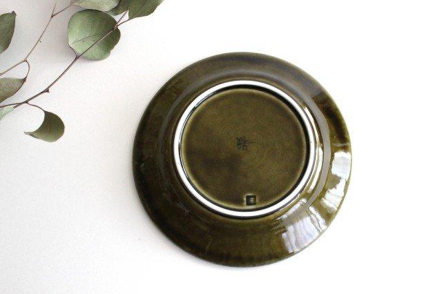 しのぎ5.5寸皿 オリーブ 磁器 皓洋窯 有田焼 画像5