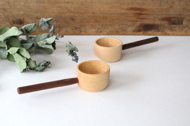 コーヒーメジャースプーン お豆用 メープル×wt ivory+安藤由紀 画像2