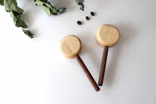 コーヒーメジャースプーン お豆用 メープル×wt ivory+安藤由紀 画像5