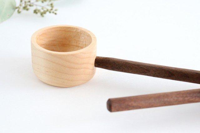 コーヒーメジャースプーン お豆用 メープル×wt ivory+安藤由紀 画像6