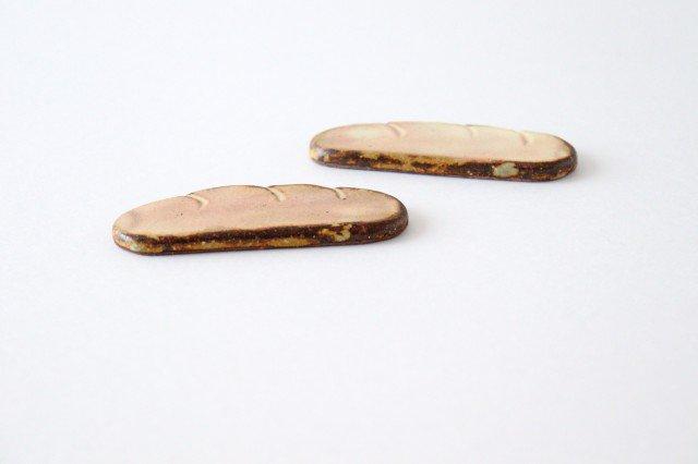 粉福 カトラリーレスト コッペパン 陶器 木のね 画像6