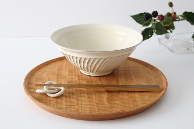 斜め鎬鉢 陶器 後藤義国 画像5