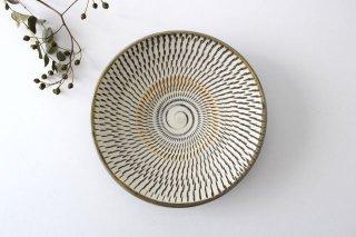 5寸皿 トビカンナ 【B】 陶器 小鹿田焼 商品画像