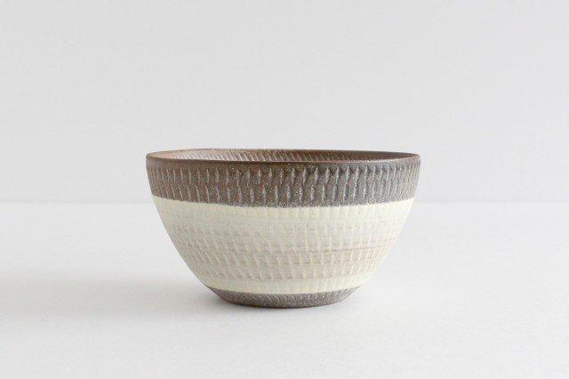 スープボウル ツートンマット 【A】 陶器 翁明窯元 小石原焼 画像2