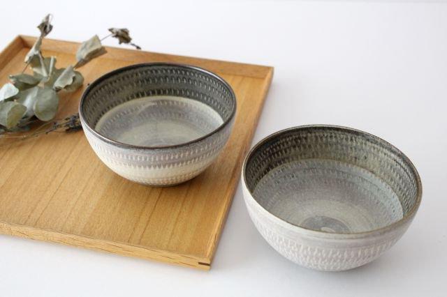 スープボウル ツートンマット 【B】 陶器 翁明窯元 小石原焼