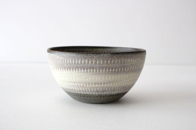 スープボウル ツートンマット 【B】 陶器 翁明窯元 小石原焼 画像2