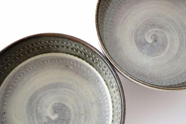 スープボウル ツートンマット 【B】 陶器 翁明窯元 小石原焼 画像5