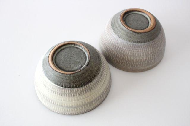 スープボウル ツートンマット 【B】 陶器 翁明窯元 小石原焼 画像6