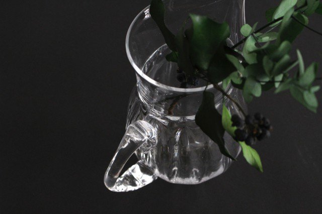 mo-ru ピッチャー S ガラス 8823/glass work 沖澤康平 画像4