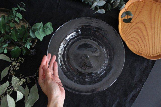 パスタプレート ガラス 8823/glass work 沖澤康平 画像2
