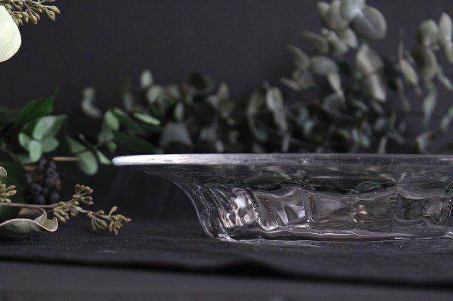 パスタプレート ガラス 8823/glass work 沖澤康平 画像4