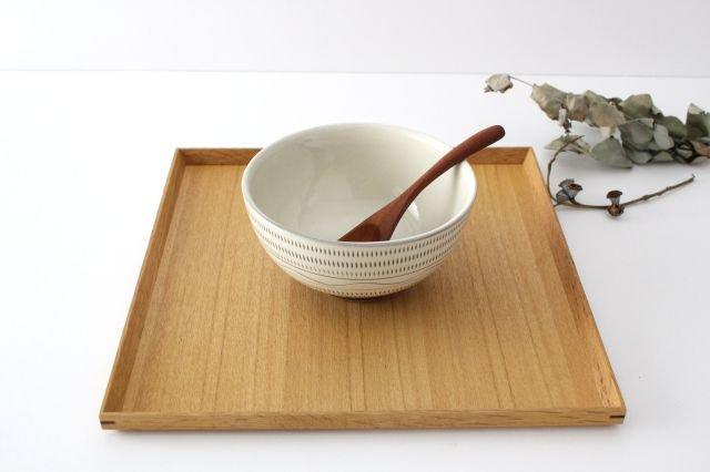 丸丼 トビカンナ・櫛目 陶器 小石原焼 画像4