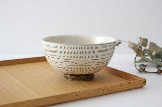 丸丼 トビカンナ・櫛目 陶器 小石原焼商品画像