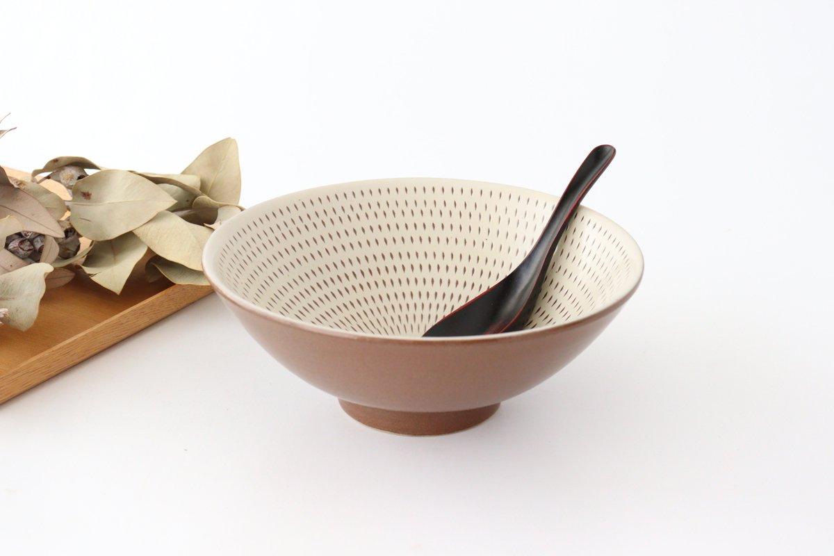平丼 ラーメン鉢 トビカンナ 陶器 小石原焼