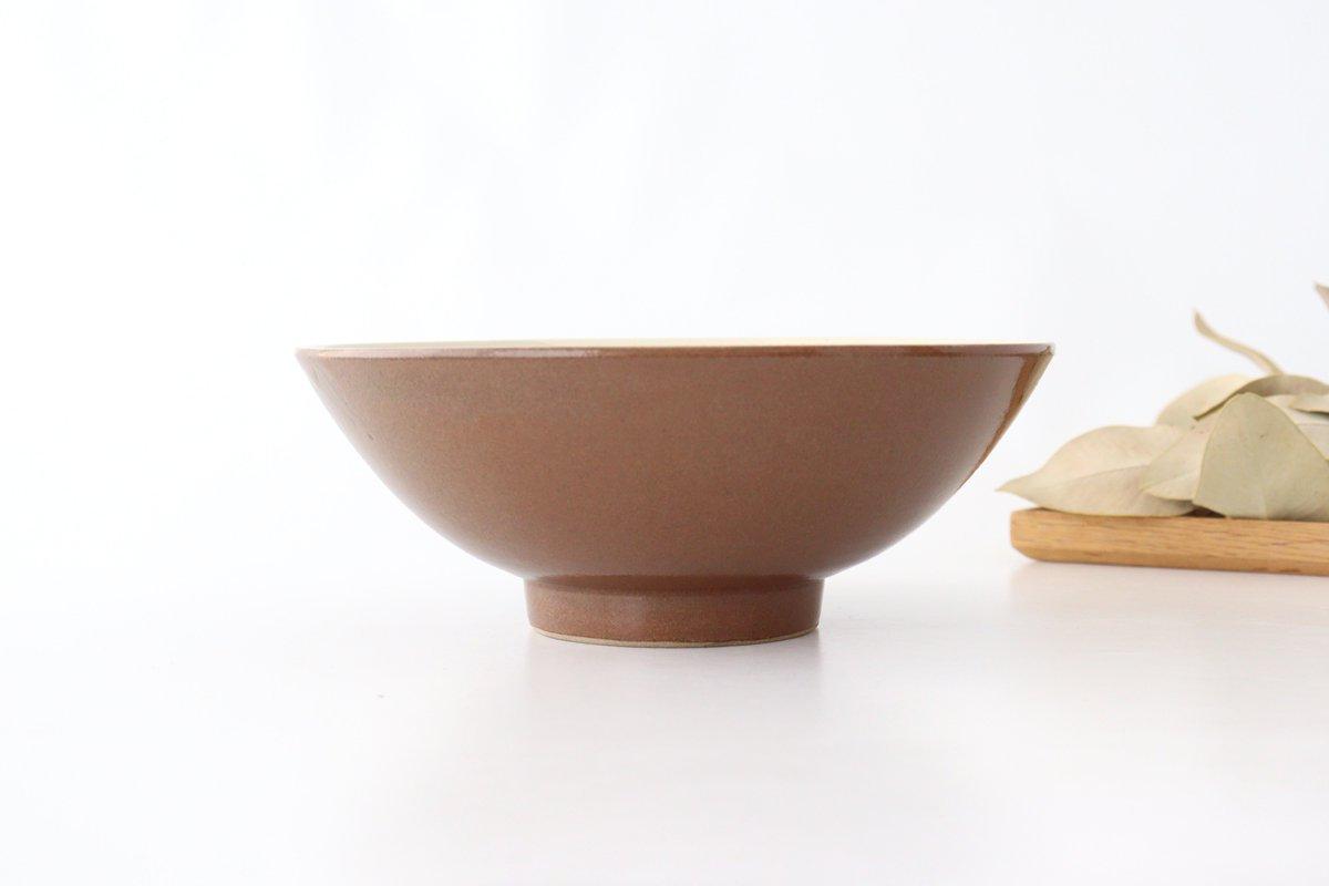 平丼 ラーメン鉢 トビカンナ 陶器 小石原焼 画像3