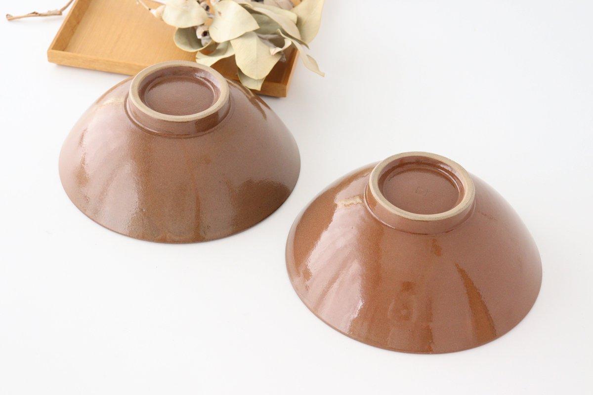 平丼 ラーメン鉢 トビカンナ 陶器 小石原焼 画像4