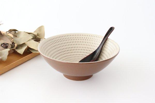 平丼 ラーメン鉢 トビカンナ 陶器 小石原焼商品画像