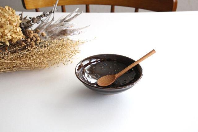 浅鉢 アメ 陶器 櫻井薫